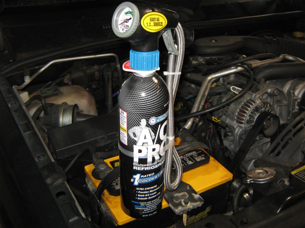 Offroad Exchange A C Pro Recharge Kit