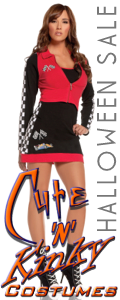 Sexy Halloween Costume Sale at Cute N Kinky. Free Shipping too!