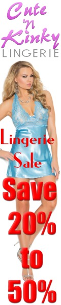 Spring Lingerie Sale Cute N Kinky. Free Shipping too!